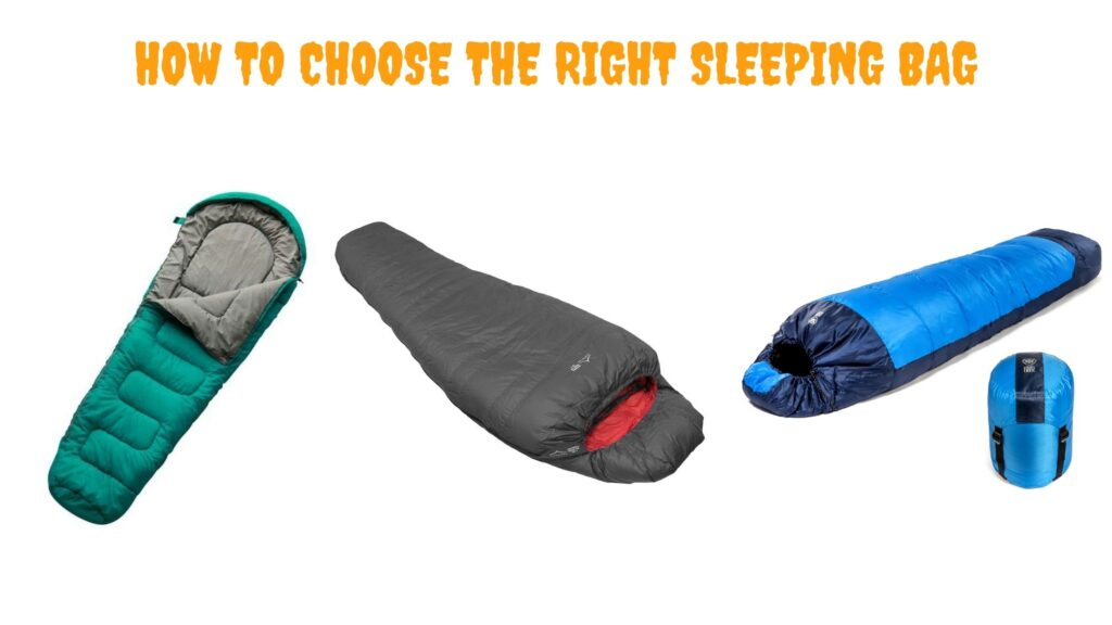 choose right sleeping bag